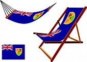 Turks And Caicos Islands Hammock And Deck Chair