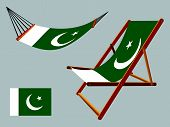 Pakistan Hammock And Deck Chair Set