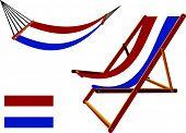 Netherlands Hammock And Deck Chair Set