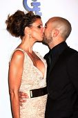 Charisma Carpenter and her Boyfriend Michael T. Rossi at the 4th Annual Thirst Gala, Beverly Hilton Hotel, Beverly Hills, CA 06-25-13