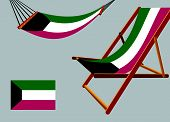 Kyrgyzstan Hammock And Deck Chair Set