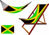 Jamaica Hammock And Deck Chair Set
