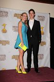 Katie Leclerc and Israel Broussard at the 39th Annual Saturn Awards Press Room, The Castaway, Burban