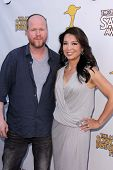 Joss Whedon and Ming-Na Wen at the 39th Annual Saturn Awards, The Castaway, Burbank, CA 06-26-13