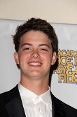 Israel Broussard at the 39th Annual Saturn Awards Press Room, The Castaway, Burbank, CA 06-26-13
