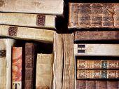 Libros antiguos de la librería