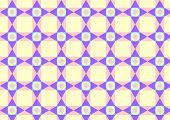 Triangle Circle And Quadrate Pattern On Pastel Color