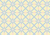 Asterisk, Circle And Triangle Pattern On Pastel Color