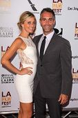Jay Harrington and Monica Richards at
