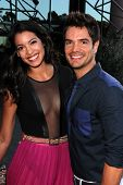 Stephanie Sigman and Andy Zuno at