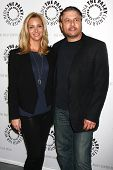 Lisa Kudrow and Gary Levine at The Paley Center Presents: An Evening With