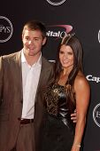 Danica Patrick and Ricky Stenhouse at The 2013 ESPY Awards, Nokia Theatre L.A. Live, Los Angeles, CA