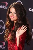 Selena Gomez at The 2013 ESPY Awards, Nokia Theatre L.A. Live, Los Angeles, CA 07-17-13