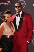 LeBron James and Savannah Brinson at The 2013 ESPY Awards, Nokia Theatre L.A. Live, Los Angeles, CA 07-17-13