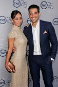 Cara Santana and Jesse Metcalfe at the TNT 25th Anniversary Party, Beverly Hilton Hotel, Beverly Hil