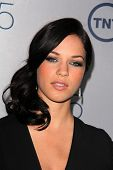 Alexis Knapp at the TNT 25th Anniversary Party, Beverly Hilton Hotel, Beverly Hills, CA 07-24-13