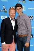 Jesse Tyler Ferguson and Justin Mikita at DoSomething.org And VH1's 2013 Do Something Awards, Avalon