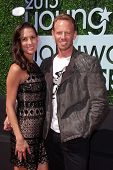 Ian Ziering and Erin Kristine Ludwig at the 15th Annual Young Hollywood Awards, Broad Stage, Santa Monica, CA 08-01-13