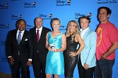 Kevin O'Leary, Barbara Corcoran, Daymond John, Lori Greiner, Robert Herjavec and Mark Cuban at the Disney/ABC Summer 2013 TCA Press Tour, Beverly Hilton, Beverly Hills, CA 08-04-13