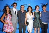 Chloe Bennet, Brett Dalton, Elizabeth Henstridge, Iain De Caestecker, Clark Gregg and Ming-Na Wen at the Disney/ABC Summer 2013 TCA Press Tour, Beverly Hilton, Beverly Hills, CA 08-04-13