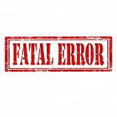 Fatal Error-stamp