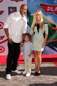 Hank Baskett and Kendra Wilkinson at the World Premiere Of Disney's Planes, El Capitan, Hollywood, CA 08-05-13