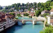 Bern (Unesco Heritage), the capital of Switzerland.