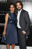 Alice Braga and Diego Luna at the
