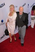 Richard Dreyfuss and wife at the