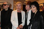 Chris Stein, Deborah Harry, Rodney Bingenheimer and Joan Jett at the