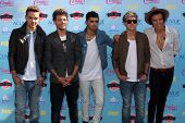 Liam Payne, Louis Tomlinson, Zayn Malik, Niall Horan, Harry Styles of One Direction at the 2013 Teen Choice Awards Arrivals, Gibson Amphitheatre, Universal City, CA 08-11-13