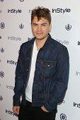 Emile Hirsch at the 12th Annual InStyle Summer Soiree, Mondrian, West Hollywood, CA 08-14-13