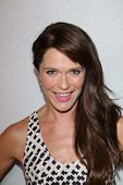 Katie Aselton at the 12th Annual InStyle Summer Soiree, Mondrian, West Hollywood, CA 08-14-13