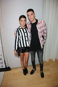 Shenae Grimes and Josh Beech at the 12th Annual InStyle Summer Soiree, Mondrian, West Hollywood, CA 08-14-13