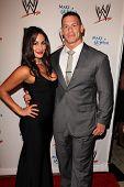 Nikki Bella and John Cena at Superstars for Hope honoring Make-A-Wish, Beverly Hills Hotel, Beverly Hills, CA 08-15-13