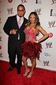 Jey Uso and Cameron at Superstars for Hope honoring Make-A-Wish, Beverly Hills Hotel, Beverly Hills, CA 08-15-13