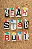 Bear, Stag and Bull