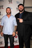 Randy Orton and Big Show at Superstars for Hope honoring Make-A-Wish, Beverly Hills Hotel, Beverly H