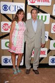 Wendy Bridges and Beau Bridges at the CBS, Showtime, CW 2013 TCA Summer Stars Party, Beverly Hilton