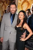Kevin Durand and Sandra Cho at the