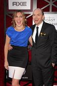 June Diane Raphael and Paul Scheer at the Comedy Central Roast Of James Franco, Culver Studios, Culv