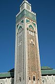 El Hassim Ii Mosque Tower