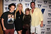 Josh Sussman, Mary Carey, Tess Hunt, Dave Wurmlinger at the set of