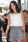 Jordana Brewster at the Vin Diesel Star on the Hollywood Walk of Fame Ceremony, Hollywood, CA 08-26-
