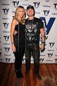 Jared Blake and girlfriend Jennifer at