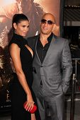 Paloma Jimenez and Vin Diesel at the