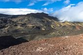 Top Of Etna Mountain In Sicily