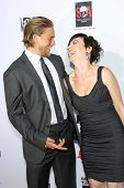 Charlie Hunnam and Maggie Siff at the
