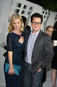 Alice Eve, J.J. Abrams at the