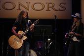 Jamey Johnson and Hayley Williams at the 7th Annual ACM Honors, Ryman Auditorium, Nashville, TN 09-10-13